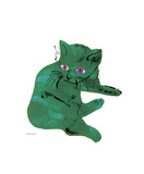 Green Cat  c1956
