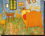 La chambre de Van Gogh à Arles Tableau sur toile