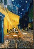Terrasse de café le soir, place du Forum, Arles, 1888, Tableau sur toile