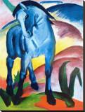 Cheval bleu I Tableau sur toile par Franz Marc
