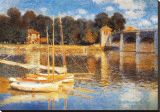 Ponte Ad Argenteuil Tableau sur toile par Claude Monet