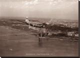 Boeing Stratocruiser  George Washington Bridge  1949