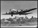 Boeing B-307 on Final Approach  1940