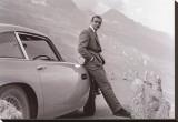 James Bond: Aston Martin Tableau sur toile