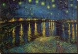 Nuit étoilée, Arles, 1888 Tableau sur toile par Vincent Van Gogh