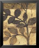 Bronzed Branches I Reproduction laminée et encadrée par Norman Wyatt Jr.