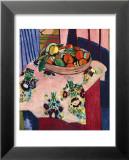 Basket with Oranges Reproduction laminée et encadrée par Henri Matisse