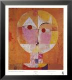 Senecio Reproduction laminée et encadrée par Paul Klee