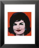 Jackie, 1964 Reproduction laminée et encadrée par Andy Warhol