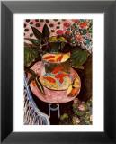 Le poisson rouge Reproduction laminée et encadrée par Henri Matisse