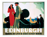 Edinburgh Couple by Cannon