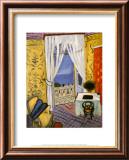 Intérieur au violon Reproduction laminée et encadrée par Henri Matisse