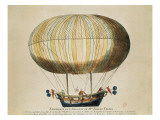 Experience of the Brothers Robert's Globe in the Tuileries Garden (19th September 1784)