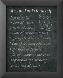 Recipes for Life I Reproduction laminée et encadrée