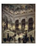 The Stairway of the Opera  Paris