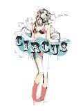 Cirque Reproduction d'art par Manuel Rebollo