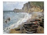 Etretat  Beach and the Porte D'Amont