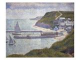 Harbour at Port-En-Bessin at High Tide