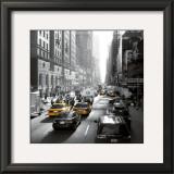 Sunset on Broadway  New York