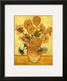 Vase of Fifteen Sunflowers  c1889
