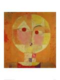Senecio Reproduction d'art par Paul Klee