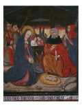 Nativity  Panel from the Church San Andres of Tortura  Late 15th Century-Early 16th Century