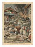 Unrest in Seoul  Korea  Illustration from 'Le Petit Journal'  Supplement Illustre  4th August 1907