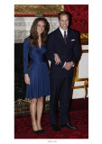 Prince William and Kate Middleton  Announcing their Engagement and Forthcoming Royal Wedding