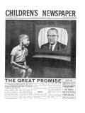 American Civil Rights  Front Page of 'The Children's Newspaper'  August 1964