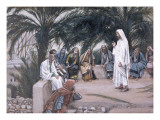 The First Shall Be the Last  Illustration for 'The Life of Christ'  C1886-94