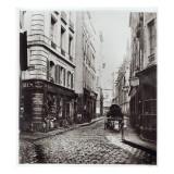 Rue Saint-Severin  from the Rue De La Harpe  Paris  1858-78