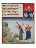 Ms 3045 Fol94R Lady Philosophy Leads Boethius in Flight into the Sky on the Wings