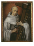 St Bernard of Clairvaux Carrying the Instruments of the Passion