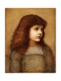 Portrait of Gertie Lewis  Half Length  1879-80