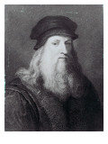 Leonardo Da Vinci  Engraved by Raphael Morghen  1817