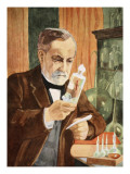 Pasteur in His Laboratory  Copy by Boris Mestchersky