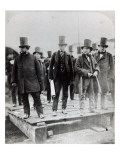 John Scott Russell  Henry Wakefield  Isambard Kingdom Brunel and Lord Derby