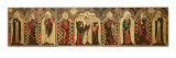 Retable Depicting the Crucifixion with Eight Saints  C1300