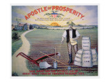 Election Poster Depicting Theodore Roosevelt as the 'Apostle of Prosperity'  1903