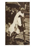 Gandhi Visiting London for 'Round Table' Conferences  September 1930