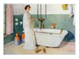 Bathroom Scene - Lisbeth  Pub in 'Lasst Licht Hinin'