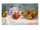 Still Life with a Blue Sugar Bowl and Peppers  C1905