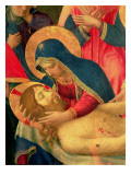 Deposition from the Cross  Detail of the Virgin Mary  1436