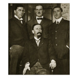 Francisco Madero and Three of His Sons  Gustavo  Gabriel and Evaristo  at the Astor Hotel