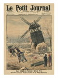 Pulling Down One of the Last Windmills on the Butte Montmartre