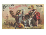 Advertisement for Buchan's Carbolic Disinfecting Soap No 11  C1880