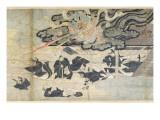 Demon Thunder  Tenjin Shrine  Kamakura Period