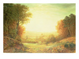 On Hampstead Heath in 1862 or When the Sun in Splendour Fades  1862