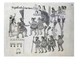 The Last Aztec Emperor Cuauhtemoc Surrenders  Plate