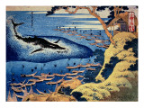 Whaling Off the Goto Island  from the Series 'Oceans of Wisdom'